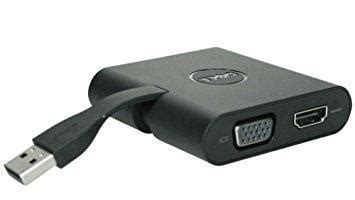 Dell Adapter USB-C to HDMI/VGA/Ethernet/USB 3