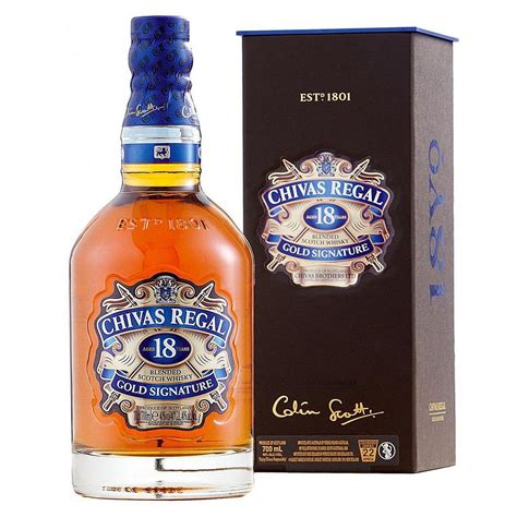 Chivas Regal Gold Signature 18-Year-Old Blended Scotch