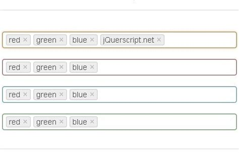 jQuery Tag & Token Input Plugin For Bootstrap - Bootstrap