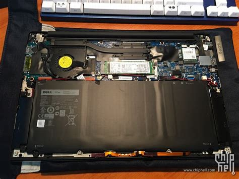 Dell XPS 13 9360 Disassembly and SSD upgrade guide