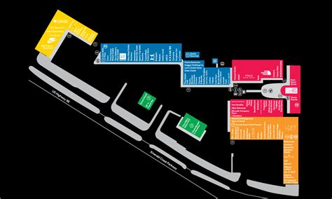 Mall Map For Silver Sands Premium Outlets®, A Simon Mall