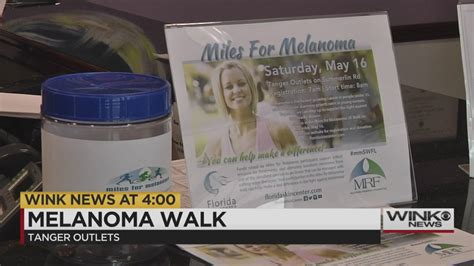 First 'Miles for Melanoma' walk takes place Saturday at