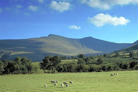 Fotogalerie: Wales   Walking holiday, Brecon beacons, Brecon
