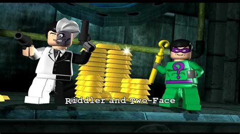 Lego Batman Playthough Part 5 - Two Face and The Riddler