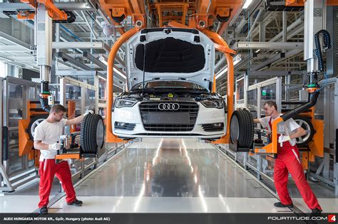 Audi Hungaria Celebrates Start of Production in New