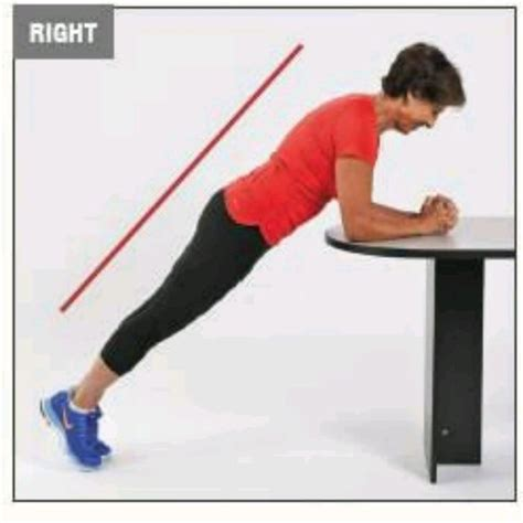 Front Plank On Table - Exercise How-to - Workout Trainer