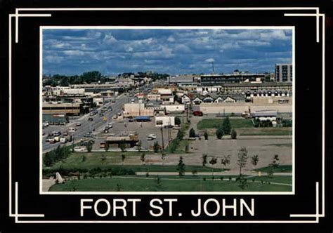 Bird's Eye View of Town Fort St