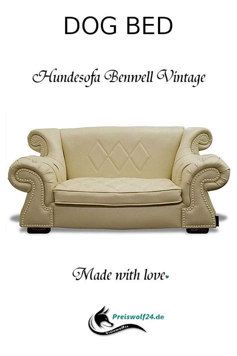 Hundecouch BENWELL Vintage | Dog bed, Chesterfield chair, Dogs