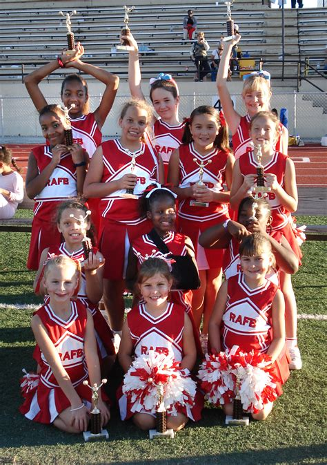 Season ends on high note for Robins youth cheerleaders