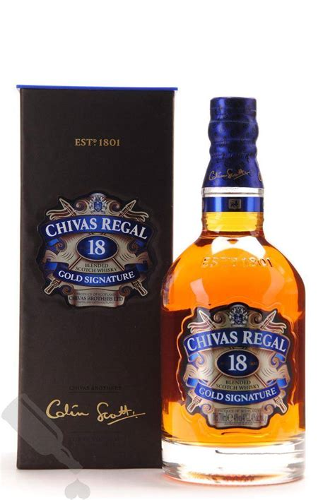 Chivas Regal 18 years Gold Signature   Passion for Whisky