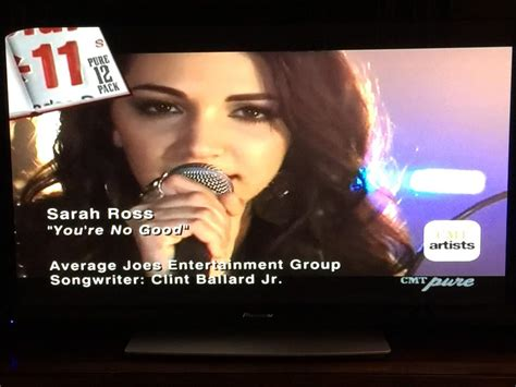 """SarahRoss on Twitter: """"We did it!! #11 on the @CMT Pure 12"""