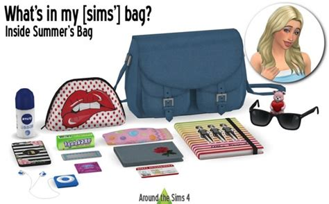 Handbag clutter Summer at Around the Sims 4 » Sims 4 Updates