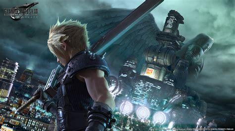 and here is ffvii remake's new key visual in 1920x1080
