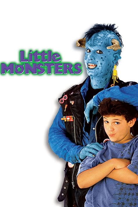 Little Monsters (1989) Movie Review   Little monsters