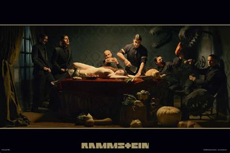 Rammstein - album cover Poster - EuroPosters