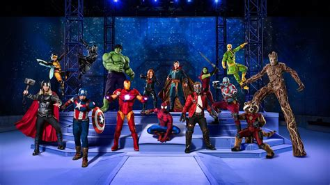 Excelsior! Avengers, Guardians and more live in Marvel