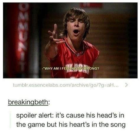 """23 Hilarious Tumblr Posts About """"High School Musical"""" That"""