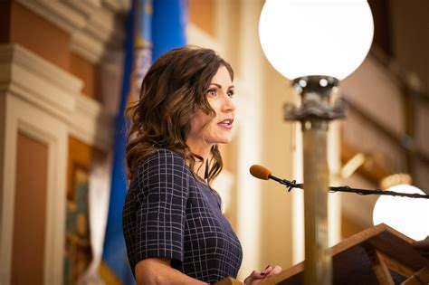 Noem announces difficult year for state economy during