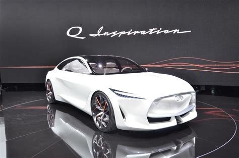 Infiniti Electrified Performance Concept Car to Show at