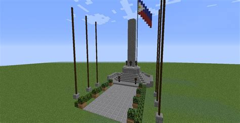 Rizal Monument Minecraft Project