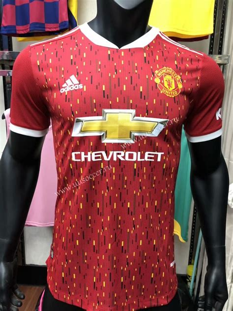 Player Version 2020-2021 Manchester United Red Thailand