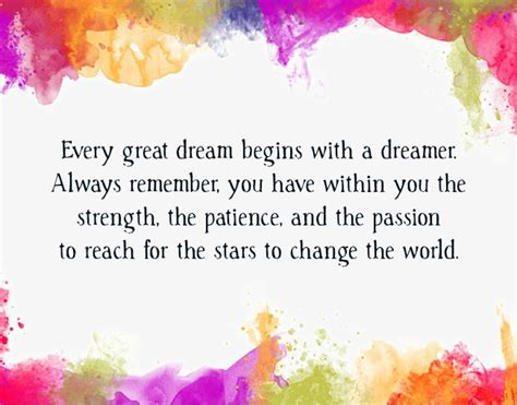 Dream Quotes | Text & Image Quotes | QuoteReel