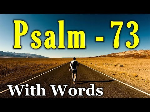 Chiastic Poetry in Psalm 73   More Than Cake