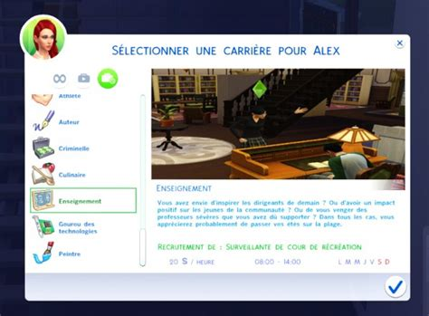 Career Archives • Sims 4 Downloads