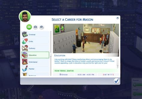 Mod The Sims: Cubic's Education Career by CubicPoison