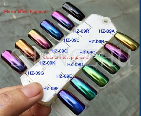 Chinese Supplier Mirror Effect Chameleon Pigment Color