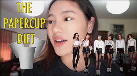 I TRIED A KPOP DIET | Paper cup diet | With Results - YouTube